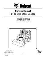 New Bobcat S185 Skid Steer Loader 2011 Edition Service Repair Manual 6987049