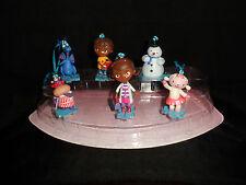 Disney Deluxe Doc McStuffins Christmas Holiday Ornaments Figures 6pc Custom Set
