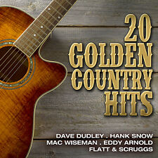 CD 20 GOLDEN Country Hits di Various Artists con Dave Dudley, Hank Snow