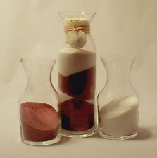 Wedding Unity Sand Ceremony Personalized  milk-claire, cork, Sand dollar charm