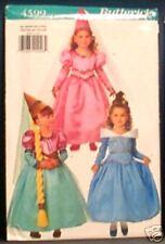 Reduced!  Butterick 4599 OOP Children's Costume Pattern sz 2-6X