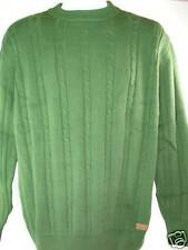 NEW Beretta Sweater Braided Crew Neck 100% Cotton Large