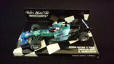 Minichamps 1/43 Rubens Barrichello Honda RA107 2007 Earth Dreams livery