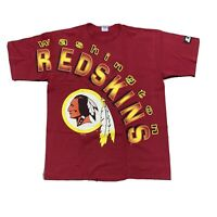 VINTAGE Starter Washington Redskins Shirt Mens XL Made in USA Single Stitch 90s