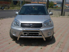 TOYOTA RAV4 MK2 CHROME NUDGE A-BAR, STAINLESS STEEL BULL BAR 2000-2005 W K