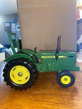 Green John Deere Model Toy Tractor Diecast No Box 7x3.5x3