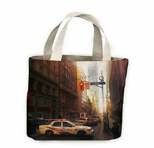 Toronto Street Scene With Police Cars Tote Shopping Bag For Life