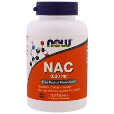 Now Foods N-Acetyl Cysteine 1000 mg - 120 Tablets