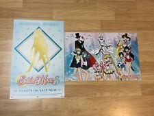 Sdcc 2018 Comic Con Sailor Moon Super S Poster (2 posters)