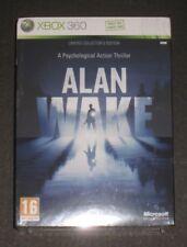Alan Wake Limited Collectors Edition Xbox 360 New Sealed PAL UK Rare
