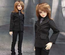 1/4 BJD 43-45cm MSD Boy Doll black suit outfit Set dollfie Luts minifee ship US