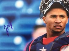 FRANCISCO MEJIA Signed Autographed 8x10 PHOTO San Diego Padres CLEVELAND Indians