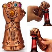 Creative Infinity Thanos Gauntlet Glove Beer Bottle Opener Soda Glass Cap Opener