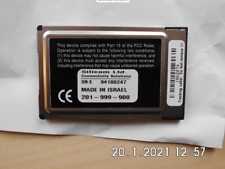 Ethernet PCMCIA Adapter - SIlicom