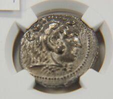 Alexander the Great, NGC AU 336-323 BC,AR Tetradrachm, Strike 4/5, AC094