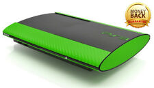 >> PlayStation 3 Super Slim Ps 3 CARBON SKIN STICKER DECAL WRAP VINYL <<