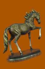 "Rare 26"" Hoppy Time Horse Bronze Sculpture Statue Rarum Limited Ed. 29 LBS Sale"
