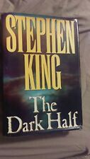 The Dark Half by Stephen King First Edition Second Printing Hardcover