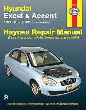 Repair Manual Haynes 43015 fits 95-13 Hyundai Accent