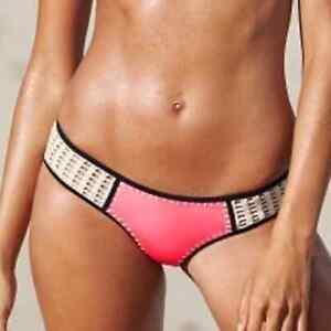 Victoria's Secret Pink Crochet Bikini Bottom S/P