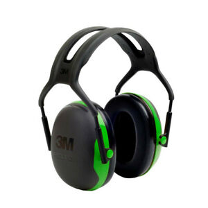 3M Peltor X1A 37270 Over-the-Head Ear Muffs, Noise Protection, NRR 22 dB