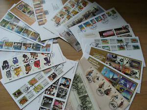 16 Different 2012 First Day Covers FDCs includes Post & Go