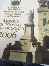 SAINT MARIN EURO MONNAIE DIVISIONNAIRE 2006