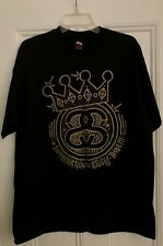Authentic Stussy International Tribe Black Gold tee Supreme extra large XL rare