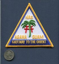 NAS NAVAL AIR STATION AGANA GUAM US Navy Base Squadron Jacket Patch