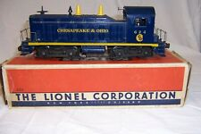 Lionel O scale 624 C&O NW2 Switcher