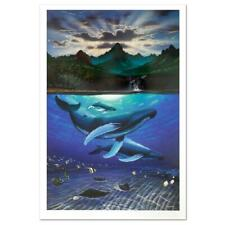 """Wyland """"Dawn of Creation"""" Signed Limited Edition Art; COA"""
