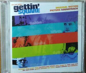 GETTIN' SQUARE - Original Motion Picture Soundtrack CD - Getting