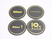 NIKON 4 pcs Cork Wood Drink Coaster Tea Coffee Cup Mat Pad D4 D4S D810 D750 D610