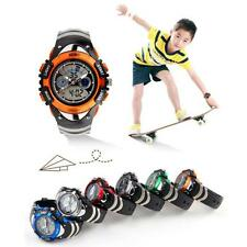 Hot Skmei For Boy Girl Diving Sport Wrist watch Kids Children LED Quartz Watches