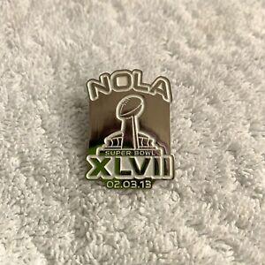 NFL Super Bowl XLVII (47) NOLA Pin **lapel pin tie tac 2-3-2013 New Orleans