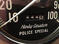 67006-62B - 1962-67er HARLEY DAVIDSON PANHEAD POLICE TACHOMETER TACHO