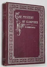 Arthur Conan Doyle THE MYSTERY OF CLOOMBER. Antique Book 1896