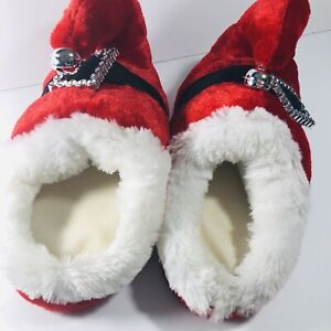 Slippers Santa Belt Belt Buckle Jingle Bell