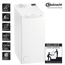 BAUKNECHT WTL 46212 N Waschmaschine TOPLADER Weiss 6 KG 2ML