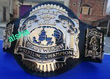 AWA Unified championship belt Adult 4 mm plates zinc