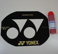Yonex Badminton Racquet String Bed Stencil Card & Stencil Ink AC414