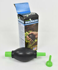 """Python Squeeze Stressless Siphon Starter - (Includes 1/4"""" & 1/2""""  Adapters)"""