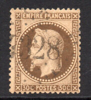 France 30 Cent Stamp c1863-70 Used (8738)