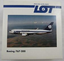 NEW HERPA WINGS 504256 LOT POLISH AIRLINES BOEING 767-200 MIB 1:500 RETIRED MINT