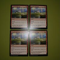 Wizard's Lightning x4 Dominaria 4x Playset Magic the Gathering MTG