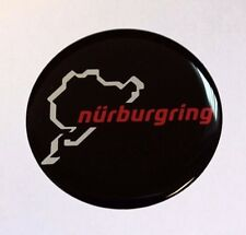 Nurburgring Edition Sticker/Decal - 96mm DIAMETER HIGH GLOSS DOMED GEL FINISH