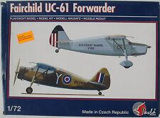 Pavla 72029 - Fairchild UC-61 Forwarder - 1:72 - Flugzeug Modellbausatz - Kit