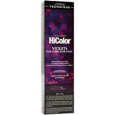 LOreal Technique HiColor Permanent Hair Color (H20 Red Violet) 1.74 oz 2pk