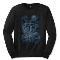 Small Black Men's Avenged Sevenfold- Chained Skeleton - Sevenfold Shirt