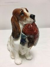 ROYAL DOULTON Cocker Spaniel Dog with Pheasant HN 1028 England